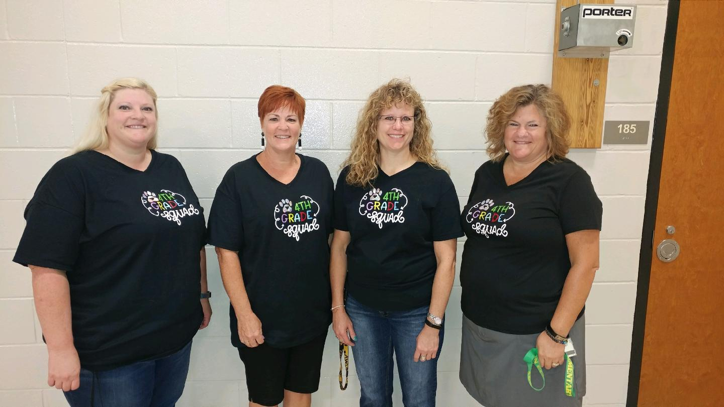 The Samuelson fourth grade team.