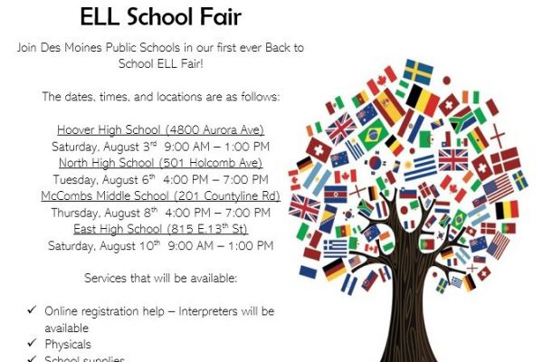First Annual Back to School ELL Fair