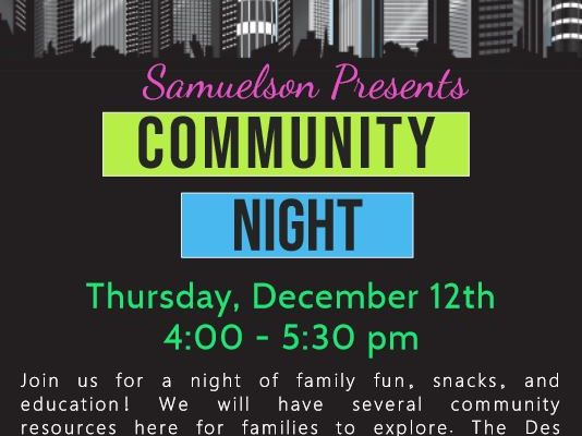 Family Community Night