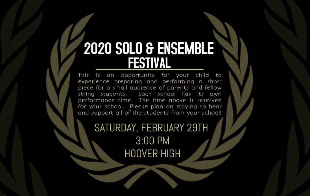 2020 ORCHESTRA CONCERT FLYER