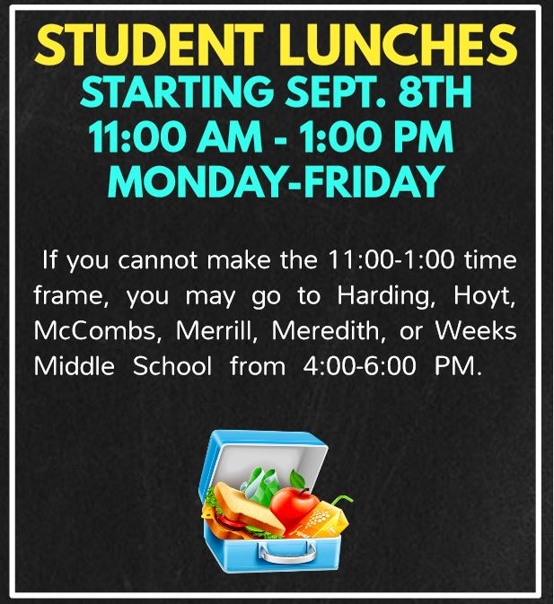 STUDENT LUNCHES