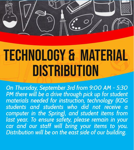 TECHNOLOGY AND MATERIAL DISTRIBUTION