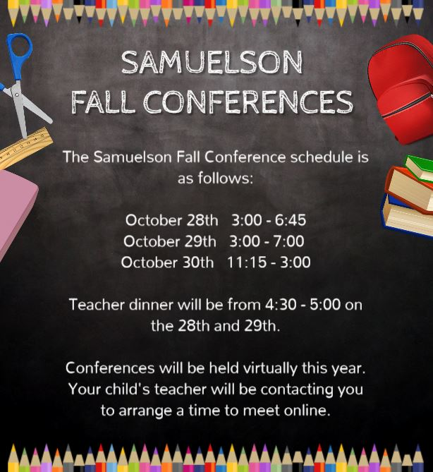 FALL CONFERENCE FLYER