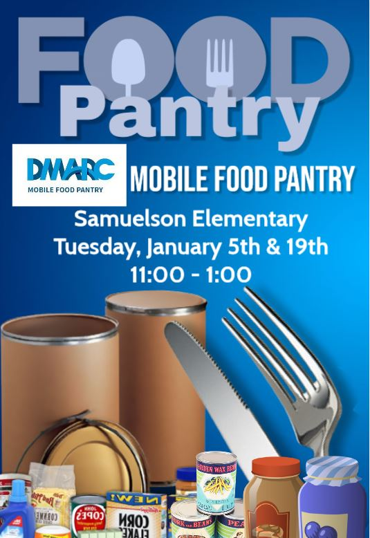 JANUARY MOBILE FOOD PANTRY FLYER