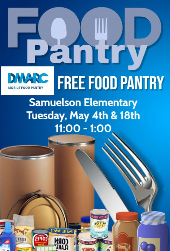 DMARC FOOD PANTRY FLYER MAY