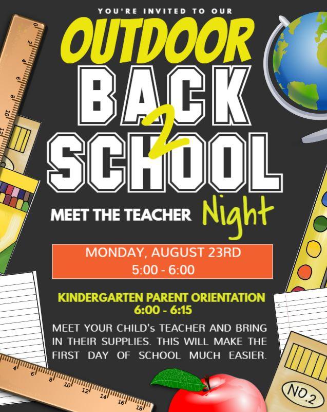 MEET THE TEACHER NIGHT NEW FLYER 08 23 21