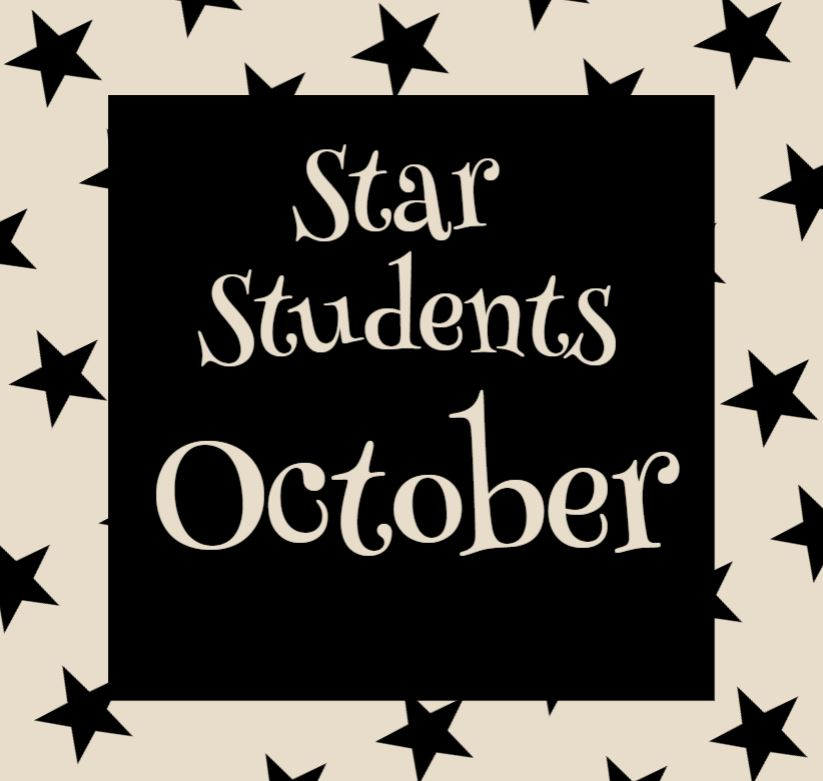 OCTOBER STAR STUDENT GRAPHIC
