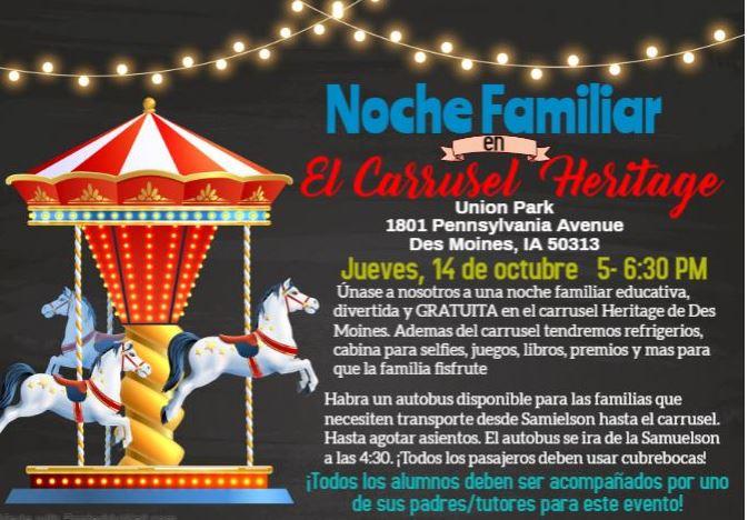 FAMILY TITLE NIGHT FLYER 10 04 21 SPANISH